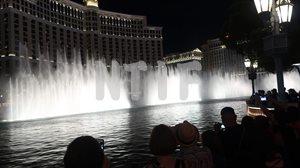 ベラージオの噴水演奏