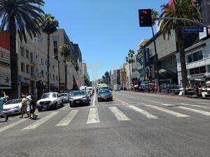 ハリウッド&ハイランド近く