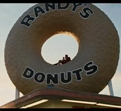 """Randy's Donuts""ランディズドーナツ"