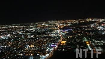 ラスベガスの夜景ツアー