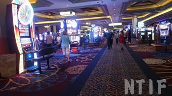 ホテル内のカジノ
