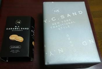N.Y.キャラメルサンドとN.Y.スカッチサンド