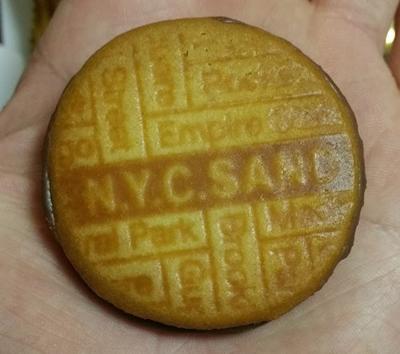 N.Y.キャラメルサンド 実食
