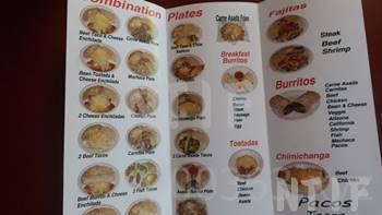 Paco's_Tacosメニュー