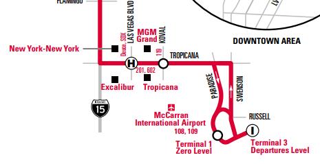 WAX路線マップ