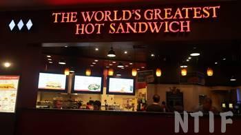 THE WORL'S GREATEST HOT SANDWICH