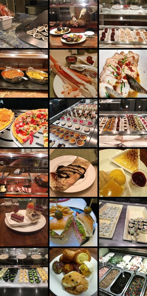 The Buffet at Wynn(Wynn Las Vegas メニュー