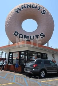 Randy's_Donuts到着