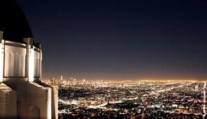 グリフィス天文台夜景