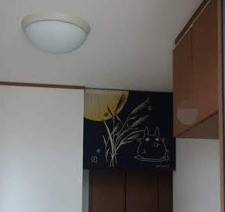 玄関に雀蜂